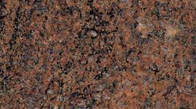 Lavorazione Granito Colore Texture Multicolor Rosso