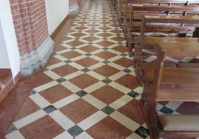 Ripristino pavimento in marmo