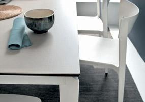 Tavolo in Laminam Calce Perla